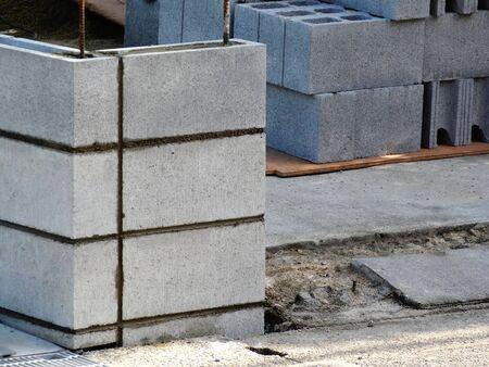 bloque de hormigon: Cargue el bloque de hormig�n