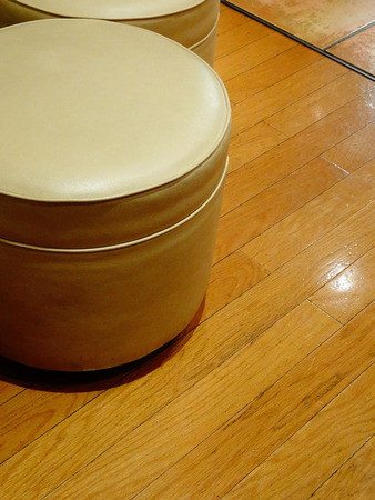 stool: Stool was placed in flooring