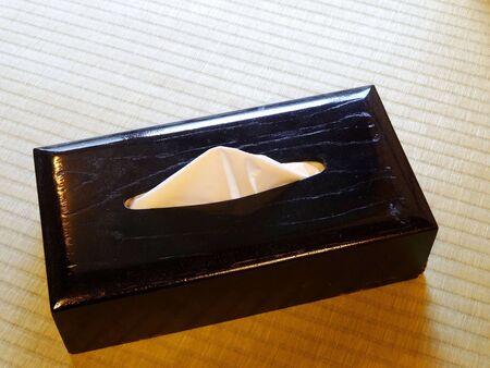 tissue: Japanese-style tissue box