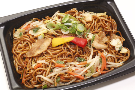chow: I went into the pack chow mein