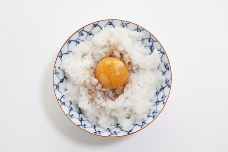 rawness: Egg rice multiplied by the soy sauce