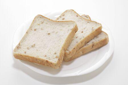 rye bread: With rye bread