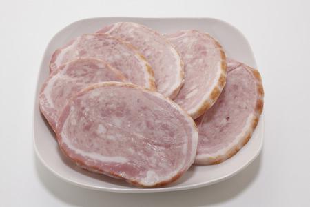 coarse: Coarse ground ham steak