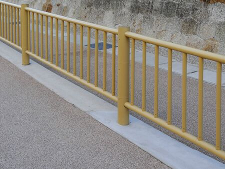 japanese style: Guardrail of Japanese style Stock Photo