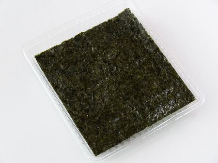 seasoned: Seasoned seaweed Stock Photo