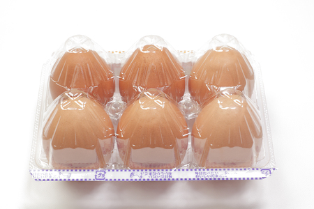 6 pieces of raw egg pack