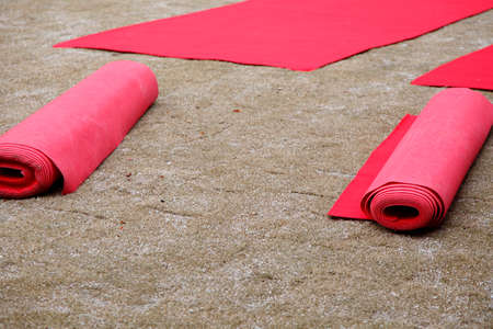 venue: Event venue red carpet Stock Photo