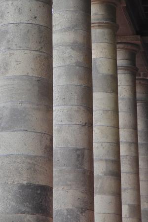 strut: Stone pillar