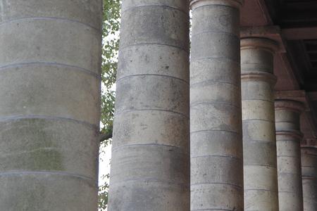 fulcrum: Stone pillar