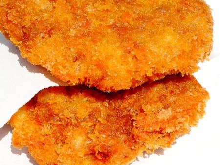 carne picada: Picar chuleta de fritos