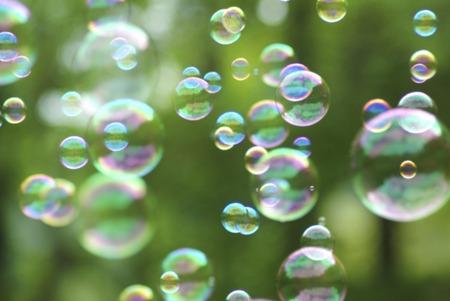 SOAP bubbles Reklamní fotografie