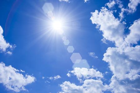 青い空と雲