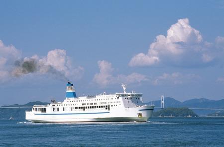 far east: Bull - Diamond Ferry Foto de archivo