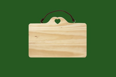 message board: Wood message board