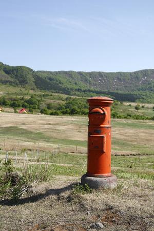 rancho: Post Ranch Foto de archivo