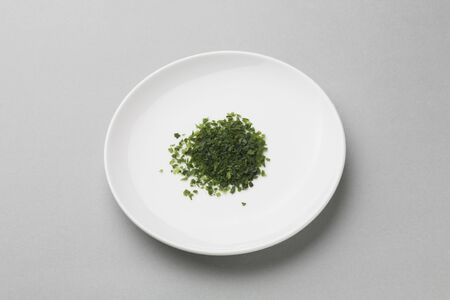 dry provisions: Green laver Stock Photo
