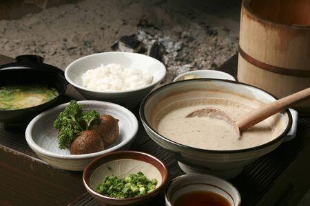Yam cuisine Stock Photo
