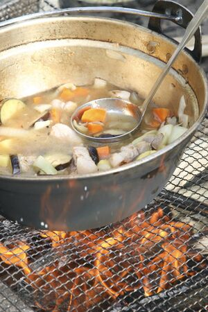 furnace: Pot vegetables furnace