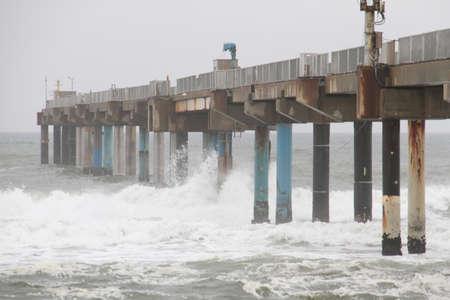 research facilities: Hasaki marine research facilities Stock Photo