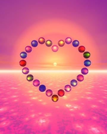 cute bi: Heart image