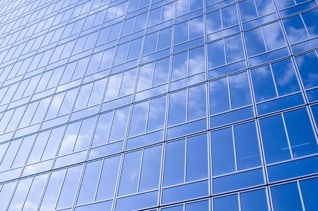 Blue skies and skyscrapers 写真素材
