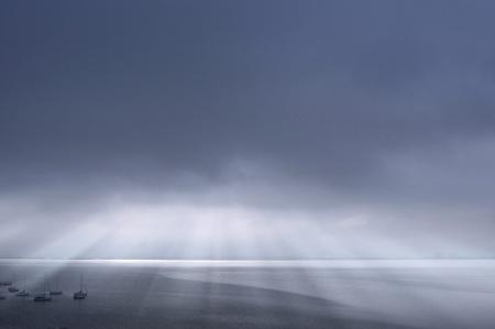 shaft: Lake Biwa shaft of light