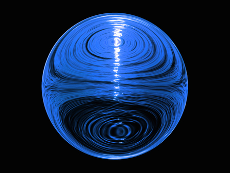 esfera: Esfera de agua