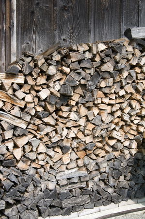 woodfired: Firewood Stock Photo