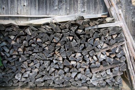 woodfired: Firewood Stock Photo
