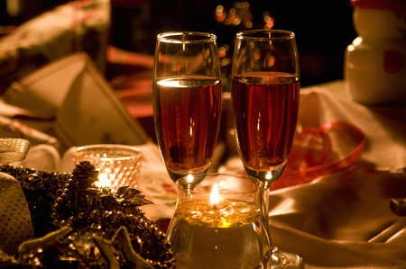 alcohol drinks: Champagne
