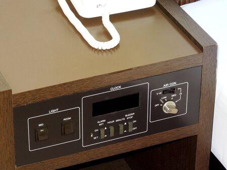 bedside: Bedside console desk