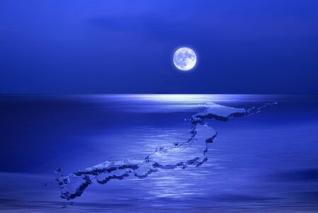 scintillation: Lake and the Moon