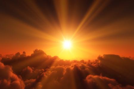 wschód słońca: Sunrise Zdjęcie Seryjne