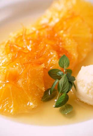 compote: Orange compote
