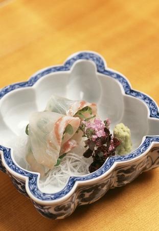 rawness: Sashimi of sea bream