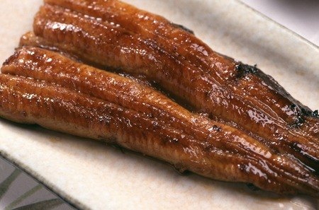 Eel broiled
