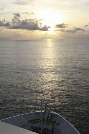 amanecer: Malacca Strait morning sunrise Foto de archivo