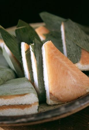truchas: Trucha sushi Foto de archivo