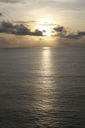 dawning: Malacca Strait morning sunrise Stock Photo