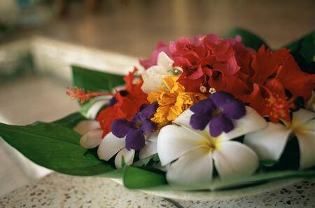 花の提供 写真素材