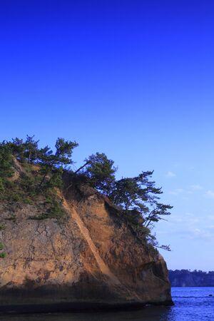 haiku: Narrow Road to the Deep North Matsushima Stock Photo