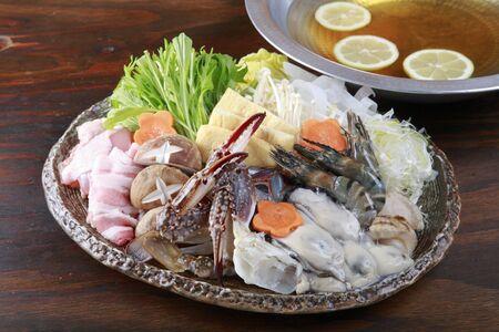 chowder: Seafood chowder