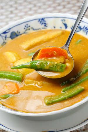 garbanzos: Myanmar garbanzos cocina curry de verduras