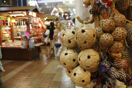 sphere: Sepak Takraw sphere Stock Photo