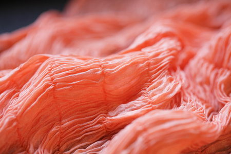 dyeing: Dyeing scarves