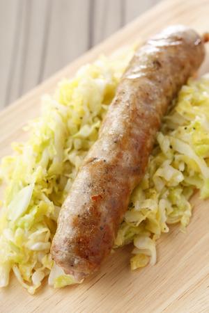 coarse: Coarse ground sausages