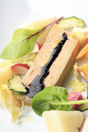 foie gras: Terrine of foie gras