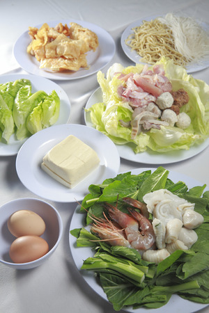 steamboat: Steamboat ingredients