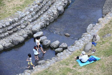 riverbed: Dry riverbed of Water Parks