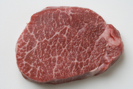 marbled: Marbled Wagyu beef